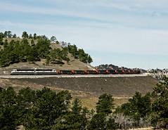 Belmont NE Tuesday April 23rd 1996 0928MDT (Hoopy2342) Tags: train rail railroad railway belmont nebraska neb bnsf burlingtonnorthernsantafe pineridge crawfordhill