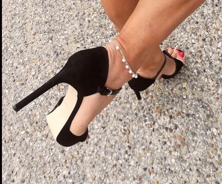 High heels.;)