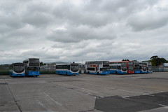 Ulsterbus Foyle 348 PCZ9348 - 2928 HCZ9928 - 2877 EEZ2877 - 366 AFZ1366 (Will Swain) Tags: translinks pennyburn garage derry londonderry 12th june 2018 bus buses transport travel uk britain vehicle vehicles county country ireland irish city centre north northern depot williamsdigitalcamerapics101 ulsterbus foyle 348 pcz9348 2928 hcz9928 2877 eez2877 366 afz1366