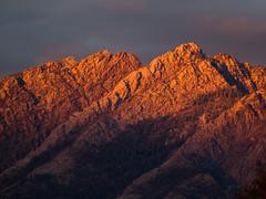 Mt Olympus Aglow (xjblue) Tags: 2018 autumn mountains scenic sunset wasatch 50200mmswd mountain mtolympus utah