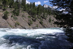 Rapids on the Bow River, Banff National Park, Canada (Jon Dev) Tags: alberta rockymountains canadianrockies