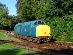 37142 Bodmin Parkway (2) (Marky7890) Tags: 37142 class37 heritage diesellocomotive bodminwenfordrailway bodmin bodminparkway cornwall train