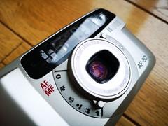 Ricoh AF80 - compact 35mm film camera (4) (nefotografas) Tags: ricohaf80 35mmfilm filmcamera 30mmlens
