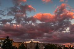 Colourful evening (Daniel Boca) Tags: clouds cloud cloudscape sunlight sunset sun evening sky blue bluesky purple canon canoneos750d canoneurope canonromania outdoor outside outdoors landscape city cityscape