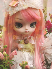 Happy B-day, Victorine!! (♪Bell♫) Tags: dal loa victorine valentine fleur de petit doll groove flower