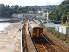 150249 Dawlish (5) (Marky7890) Tags: gwr 150249 class150 sprinter 2t17 dawlish railway devon rivieraline train