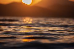 Kos (A.M. Fotografie) Tags: kos greece sunset sea ocean holiday reflection water sun mountans mountan sonne sonnenuntergang urlaub griechenland spiegelung waves wellen