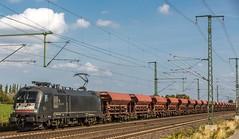 030_2018_09_20_Timmerlah_ES_64_U2_-_014_6182_514_DISPO_mit_Facs_Schüttgut_Wagen ➡️ Peine (ruhrpott.sprinter) Tags: ruhrpott sprinter deutschland germany allmangne nrw ruhrgebiet gelsenkirchen lokomotive locomotives eisenbahn railroad rail zug train reisezug passenger güter cargo freight fret sonnenberg timmerlah db cdc dispo egp evb itl meg rbh radve rpool tls enno vps wfb 0445 0648 1212 1277 1440 5370 5401 6111 6120 6140 6143 6145 6146 6151 6152 6185 6186 6187 6189 6193 7383 es64u2 bahnbau auto logo natur outddor graffiti lkw
