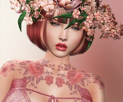 Autumn fragrances (Shena Neox) Tags: poisonrouge shape avatar beauty shenaneox fashion ktarsis tattoo ebento