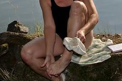 Obouvání (Merman cvičky) Tags: balletslippers ballettschläppchen ballet slipper ballerinas slippers schläppchen piškoty cvičky ballettschuhe ballettschuh