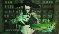 [ witchy ] ([ sithas ]) Tags: thesanguinetree secondlife sl sithasslade blog blogger fashion hourglass witch spooky october halloween magic blueberry ison inhale yummy reveobscura