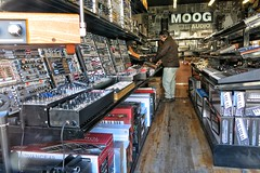 Like a kid in a candy store (jefg99) Tags: storemixermixersmontreal moog