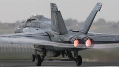 F/A-18F Super Hornet (Steve Cooke-SRAviation) Tags: 48thfighterwing 492fs 493fs 494fs 500mm 5d3 cvn1 canon f15eagle f15c f15e f22araptor fa18e fa18f raflakenheath sraviation usaf usafe