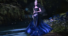 MIDNIGHT MUSE (VALERIA ENDRIZZI - Designer&FashionPhotographer) Tags: azul gown night dress blue beauty tableauvivant aurealis