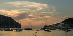Port de Soller (hjuengst) Tags: mallorca majorca spanien spain clouds wolken boat sailboat port hafen portdesoller sóller balearen