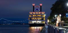 Detroit Princess (Tony B Imaging) Tags: detroit princess detroitriverwalk riverwalk river boat water morning