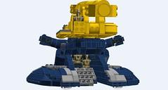 Defoliator Deployment Tank - DDT-Final-HATCHES OPEN REAR (IcarusBuilds) Tags: starwars clonewars lego ldd moc ddt tank defoliator