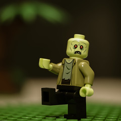 Zombie (N.the.Kudzu) Tags: tabletop lego miniature zombie canondslr lensbabytwist60 lightroom