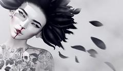 Adrift (Alisa Perne) Tags: alisa26 alisaperne secondlife sl hairfair zibska whitewidow tattoo suicidalunborn glamaffair lelutka bento applier
