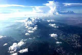 Hong Kong from the air