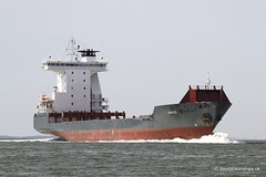 Ship. Dance 9360972 (dickodt65) Tags: ship river schelde containership feeder dance