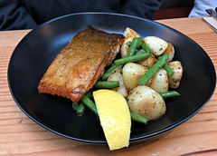 2018 Sydney: Lunch @Fish & Co (dominotic) Tags: 2018 tramsheds food lunch fishco sustainablefishcafe 1904rozelletramdepot innerwestsydney architecture history dining shopping industrialmakeover iphone8 yᑌᗰᗰy tramshedsharoldpark sydney australia