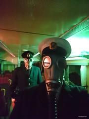 Cellphone Selfie (Bo Ragnarsson) Tags: selfie stalker fallout postapocalyptic postnuclear gasmask gp5 uniform train apocalypsedeacadence boragnarsson