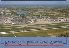 MCI02 (By Air, Land and Sea) Tags: airport postcard mci kansascity missouri kansascityinternationalairport aircraft airplane airline
