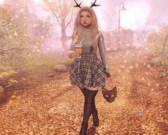 ♡ Autumn Trance ♡ (Lili [My Fashionista Heart]) Tags: catwa okkbye anatomy stealthic pinkfuel ascendant mudskin michan unicult loki reign teabunny lootbox kustom9 gacha