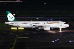 TC-FHY Freebird Airlines Airbus A320-214 (buchroeder.paul) Tags: dus eddl dusseldorf germany europe ground night tcfhy freebird airlines airbus a320214
