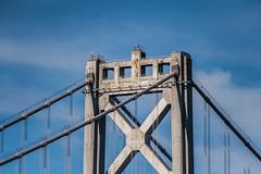 tower 2 (pbo31) Tags: bayarea california nikon d810 color october fall boury pbo31 sanfrancisco city embarcadero fleetweek southbeach baybridge 80 bridge tower blue