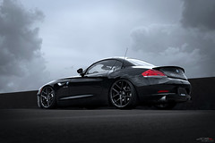 BMW Z4 on ACE Flowform AFF02 (ACEALLOYWHEEL/AMF FORGED) Tags: bmwz4 bmw z4 satinblack europeansociety euro cars acealloywheels aceflowform wheels customwheels fitment stance acealloy acewheels black concave custom car flowform wheelsandtires