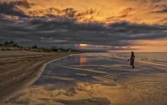 Caspian Sea Sunset (D. Scott McLeod) Tags: caspiansea iran
