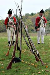 REDCOATS (MIKECNY) Tags: british soldier reenactor 24thregiment americanrevolution newyork saratogabattlefield gun rifle musket