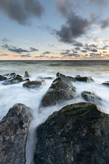Caister-on-Sea (Phil Carpenter) Tags: norfolk caisteronsea rocks sunrise coast water waves coastal