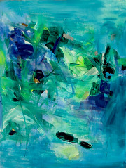 Diamond in the Water Garden (Suz .. Abstract Art) Tags: water rain garden beauty silver art diamond blue green love color decor interior decoration abstract violet acrylic action beautiful brush canvas contemporary creative design expressive flower harmony joy joyful lovely mixedmedia modern oil paint painting sapphire stroke white ocean
