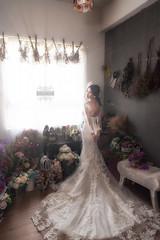 Pre Wedding (JoshuaSYChang) Tags: wedding bride fashion elegance women dress beautiful beauty event white married love celebration people weddingdress clothing bouquet fashionmodel style luxury d850 nikon