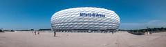 Sporting Donut (Tony Shertila) Tags: germany bavaria city europe football hotel munchen munich outdoor stadium tourist travel münchen bayern deu 20170826123422germanymunichlr
