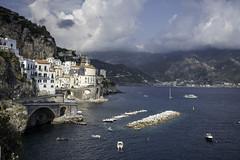 Atrani (Maxim Baskov) Tags: europe italy amalfi mediterranian sea vacation