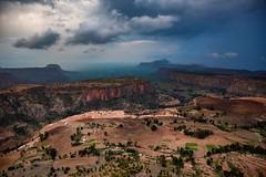 Tigray, Ethiopia (Rod Waddington) Tags: africa african afrique afrika äthiopien ethiopia ethiopian etiopia ethiopie etiopian tigray landscape mountains nature farming farms houses clouds rain buildings