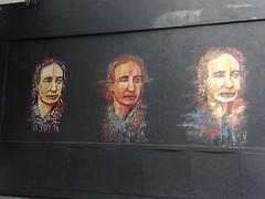 BTOY : Louise Michel (6 octobre 2018) (Archi & Philou) Tags: btoy murxi oberkampf pochoir stencil streetart visage face louisemichel portrait