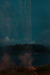 As The Stars Fall (pni) Tags: this water sky evening wheelbarrow shovel ground cloud spark fireworks veneziaden jakobstad j18 pietarsaari finland suomi pekkanikrus skrubu pni smoke venezianskafton villaavslutningen venetsialaiset