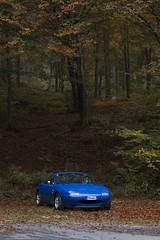 b1 p (andreacalvo184) Tags: miata mx5 mazda eunos roadster mariner blue