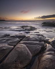 After sunset (www.peterhenryphotography.com) Tags: beach rocks parton coast tide sunset colour