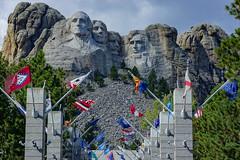 Mount Rushmore National Memorial (what's_the_frequency) Tags: mountrushmore keystone penningtoncounty southdakota melanie washington jefferson roosevelt lincoln presidents blackhills fall autumn sony a65 24105 minolta24105 september