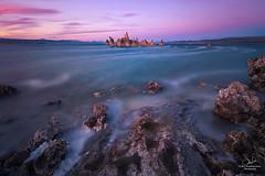 Mono Lake, CA (MagicPixls) Tags: milkyway monolake nightsky sunset tufatowers longexposure nightphotography
