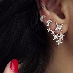 Xandra Crystals Stars & Arrow Earrings (katalaynet) Tags: follow happy me fun photooftheday beautiful love friends