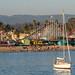 Santa Cruz Boardwalk viewed from the Pier