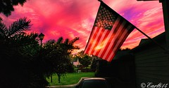 An American Sunset! (Edale614) Tags: sunset sunsetsaroundtheworld dusk sky columbus ohio clouds americanflag flag usa naturephotography naturelovers nature photography photo photooftheday picoftheday pic wanderlust aroundtheworld ohioexplored ohiophotos exploreohio earl614 cbus