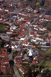 Cranbrook from the Air